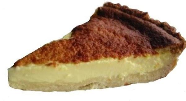 Great Grandma Kennedy's Egg Nog Custard Pie Recipe