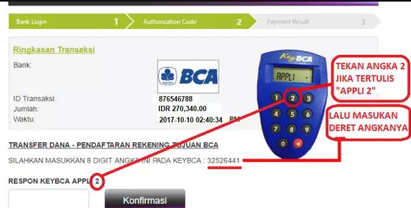 cara deposit Olymp Trade dengan BCA