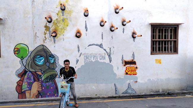 street art penang 2017