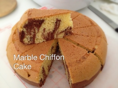 My Mind Patch Rice Cooker Marble Chiffon Cake