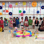 Dussehra Celebration of Playgroup Afternoon Section at Witty World, Chikoowadi (2017-18)