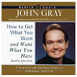 Dr John Gray Audiobook Cover