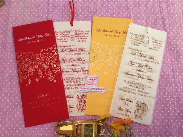 Mẫu thiệp cưới giá rẻ hcm