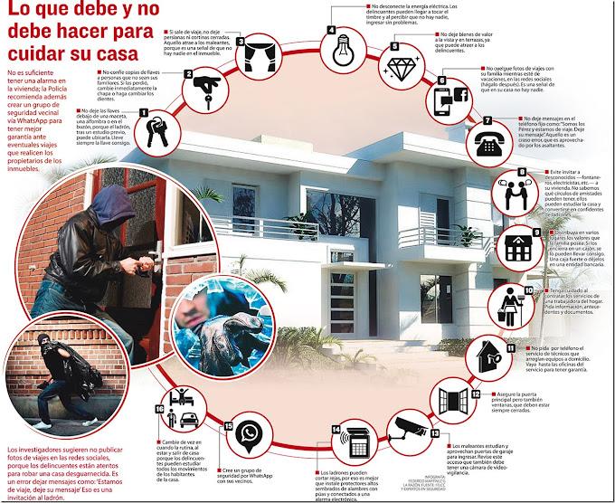 16 modos de 'invitar' a los delincuentes a su vivienda