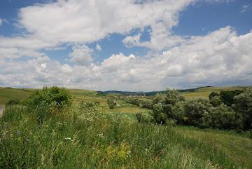 Idyllische Landschaft bei Valeni