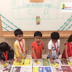 Eid Celebration by Playgroup Afternoon section at Witty World, Chikoowadi (2018-2019)