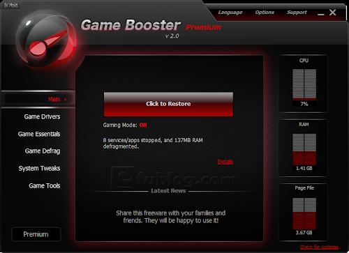 IObit%252520Game%252520Booster%252520Premium%2525202.0%252520screenshot Miễn phí bản quyền phần mềm Game Booster Premium 2