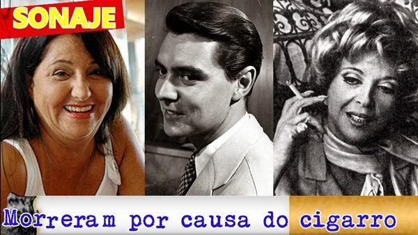 7 atores brasileiros que morreram por causa do cigarro