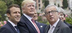 Macron Trump Junker