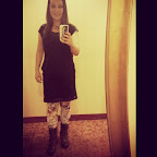 Before the Satiristas show and the Bacon & Doughnut party. #selfpic #TAM2013 #sanrio #selfie #SouthPoint #boots #latergram #img