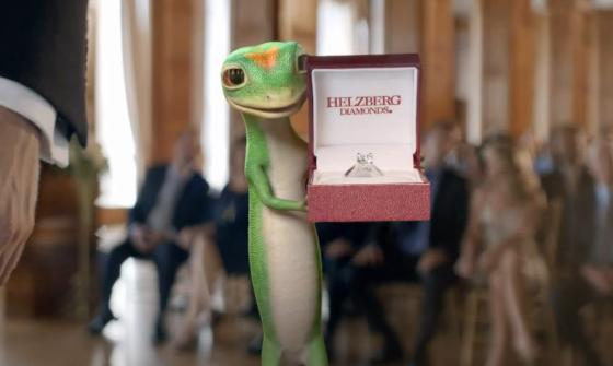 GEICO Gecko Helzberg Diamonds Commercial 2012 The Best Man