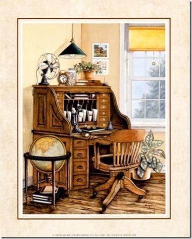 láminas antiguas, ilustraciones viviendas  (3)