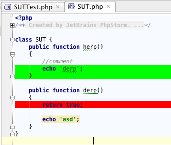 phpunit code coverage