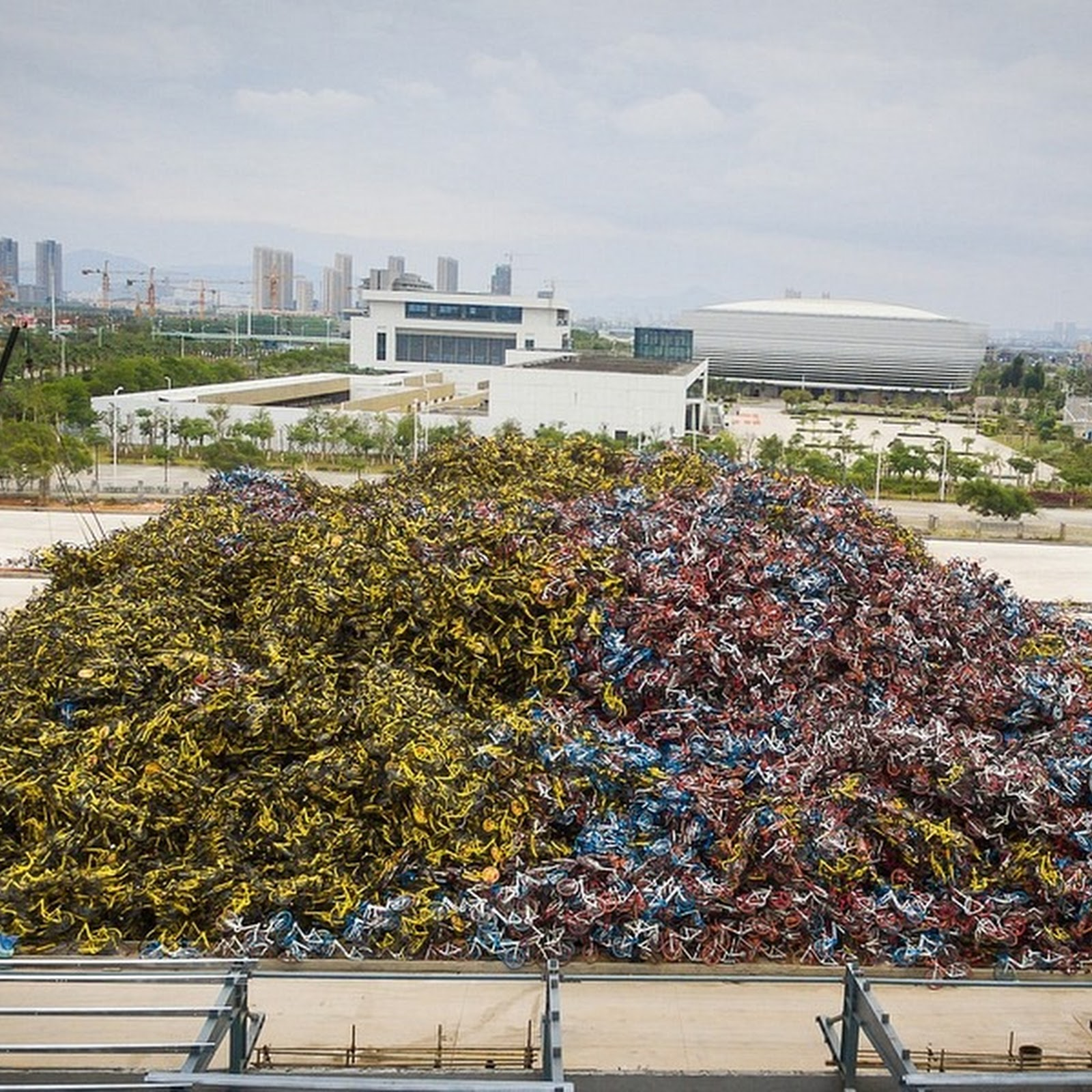 China's Bicycle Graveyards