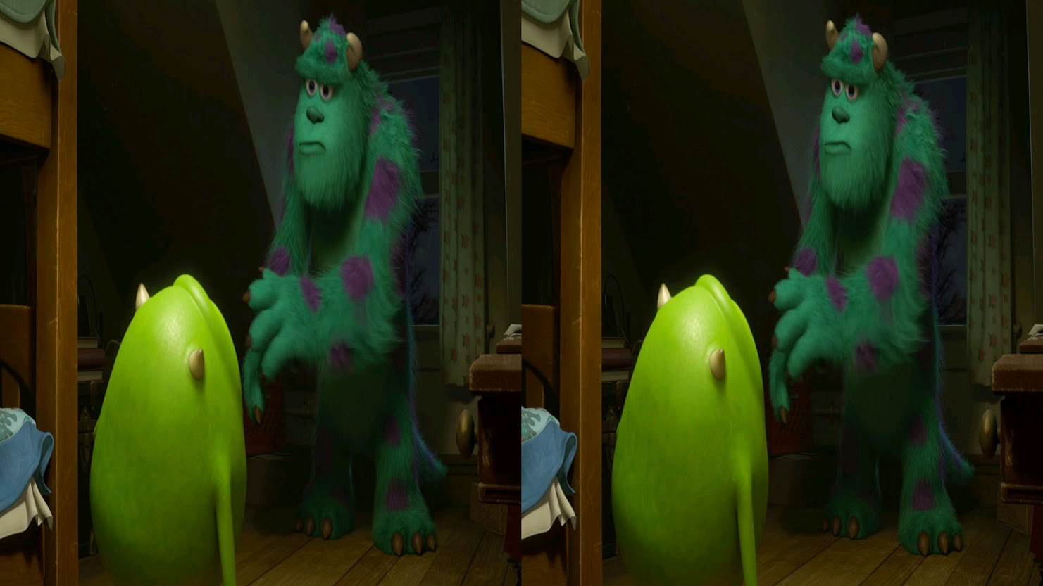 Monstros 3D Half-SBS BluRay 1080p Dual Áudio  Elite dos BluRays