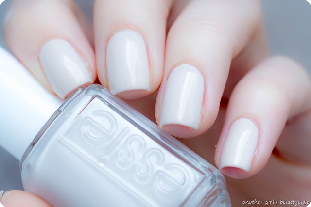 LFB beige essie bridal between the seats swatch