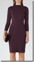 Reiss berry knit dress