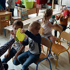Foto's spelen op bus 1KC 2016