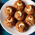 Eggless Coconut Cookies Recipe   Indian Style Coconut Biscuit