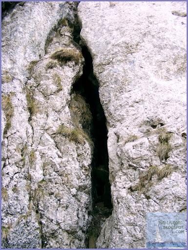 interior pestera de gheata piatra mare