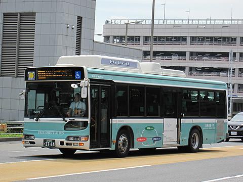羽田京急バス「空港内シャトルバス」 2764
