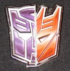 "BotCon 2008 ""First 100"" Pin"