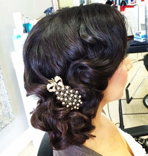 Top Smart Wedding Hair Updos In Current Year For Brides 2017-2018 11
