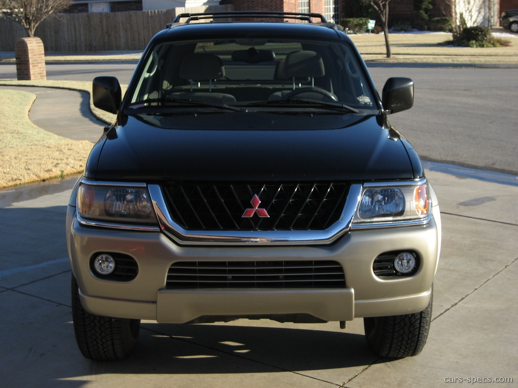 1997 Mitsubishi Montero Sport LS 4dr SUV 3.0L V6 4×4 5-speed Manual