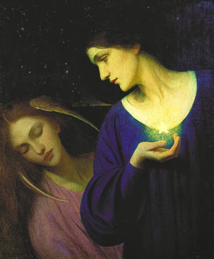 Night and her daughter Sleep - M.L. Macomber