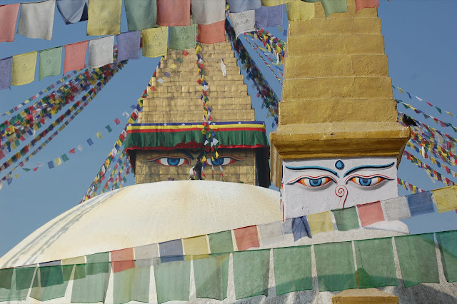 Stupa at Boudhanath