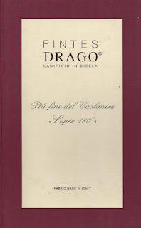 Fintes Drago, Tweed Sakko, Super 180's, € 700/-