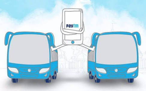 Paytm - Get Rs.200 Cashback On Bus Ticket Bookings Of Rs.300 Or Above