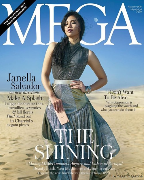 Janella Salvador for Mega November 2017