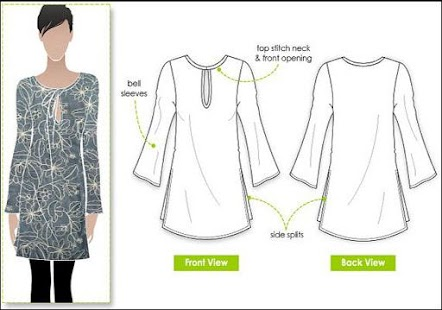 clothing patterns for women - náhled