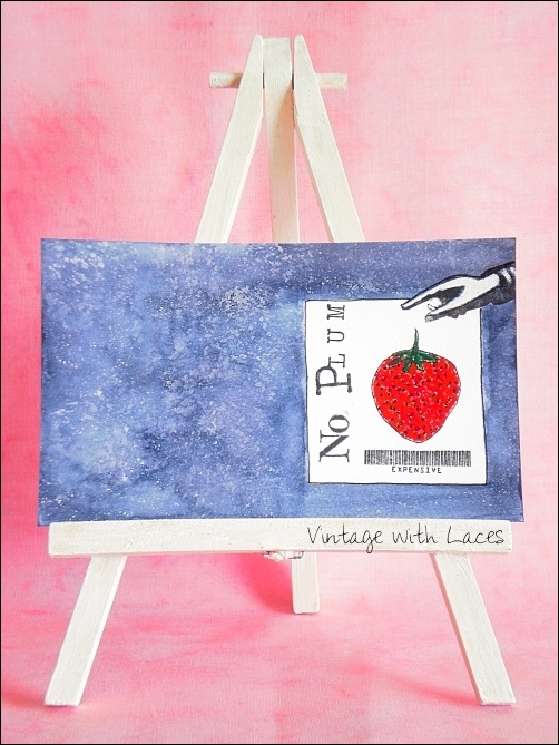 ICAD - No Plum by Vintage with Laces