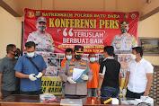 Polres Batubara Paparkan Sejumlah Kasus Pidana Pencurian Dengan Pemberatan