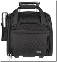 Travelon wheeled Underseat Carry on with Smart Sleeve