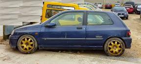 Abandoned Renault Clio Williams