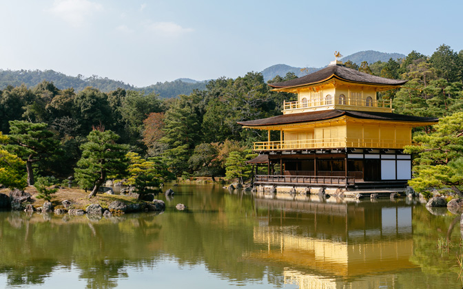Kyotos Golden Pavilion by andrewsparrow1