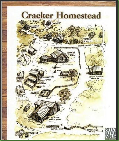 Cracker Village Map
