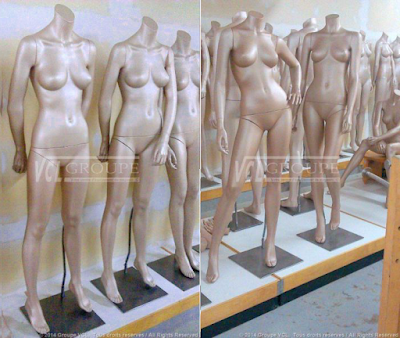 HIGH FASHION FEMALE MANNEQUINS - 1