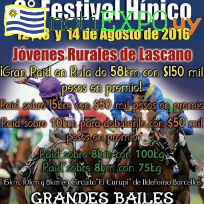 6to Festival Hipico de Lascano.