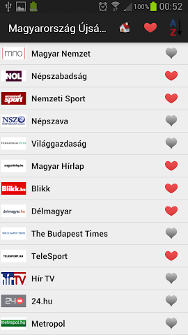 android Hungary Daily Newspapers Screenshot 0