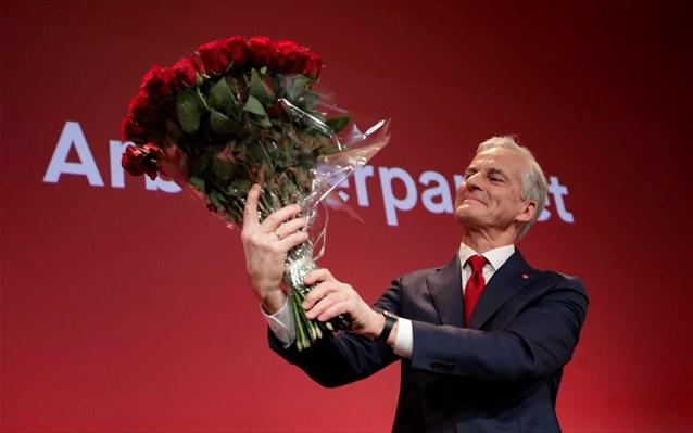 Νορβηγία: Νίκη της κεντροαριστεράς- Αργούν οι συνομιλίες για σχηματισμό συνασπισμού