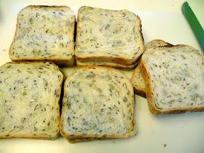 Asparagus and Cheese Sandwich
