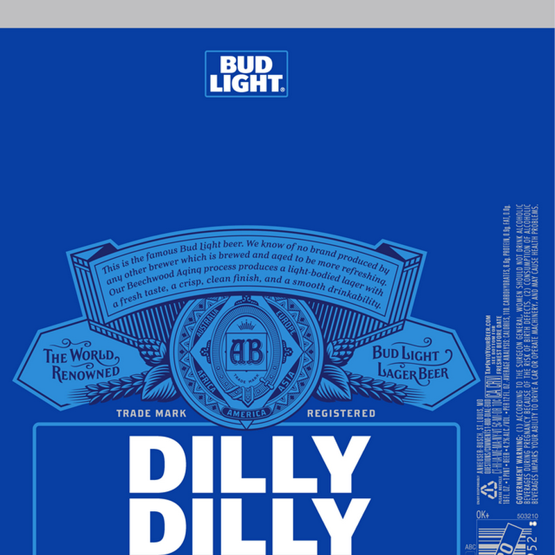 Bud Light Adding New Dilly Dilly Packaging