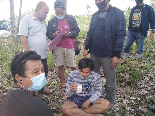 Lagi, Ditresnarkoba Polda Kalteng Gulung 2 Pengedar Sabu
