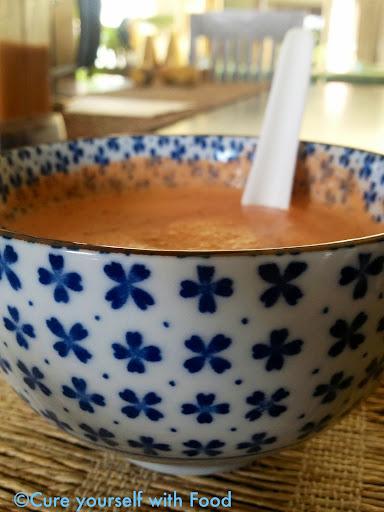 Manasa's Creamy Tomato Basil Soup