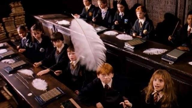 Em 4 de setembro de 1992 acontecia a aula de feitiços dos alunos do segundo ano