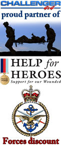 Challenger 4x4 proud partner of Help for Heroes Rally Forces Discount